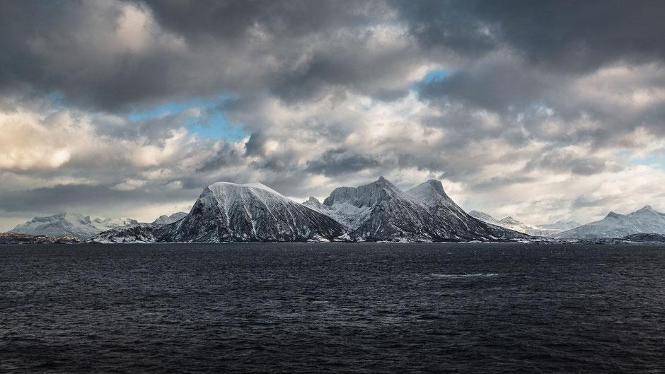 Die Lofoten im Winter in Norwegen