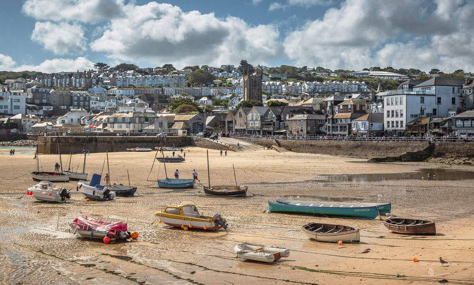 St Ives Bay, St Ives, Cornwall, England