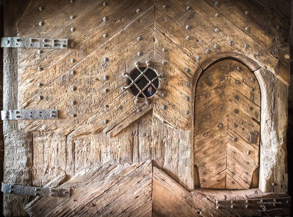 Wartburg, Eisenach, Thüringen, Deutschland, Architektur, Türen und Fenster, Türen, Alte Türen