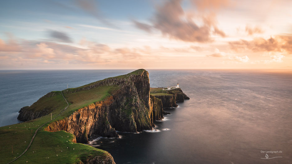 Neist Point Leuchtturm, Isle of Skye, Schottland