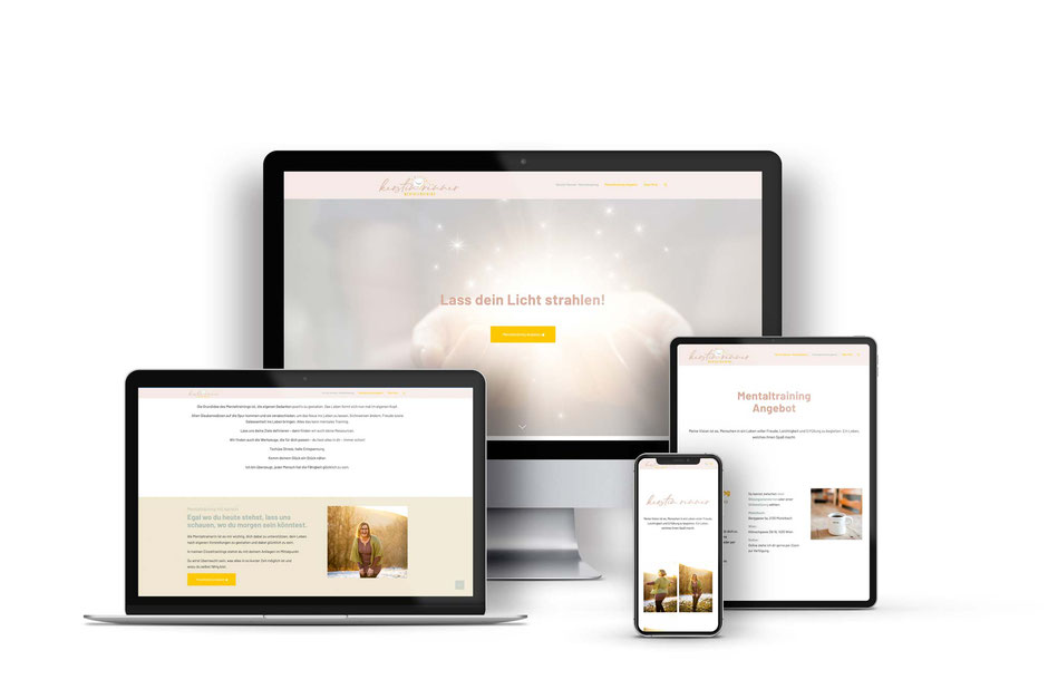 Kerstin Renner Web Design mit wordpress