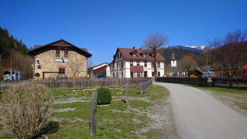 Röststation, Kaffeerösterei, Kapellen an der Mürz, R5, Mürztalradweg, Naturpark Mürzer Oberland