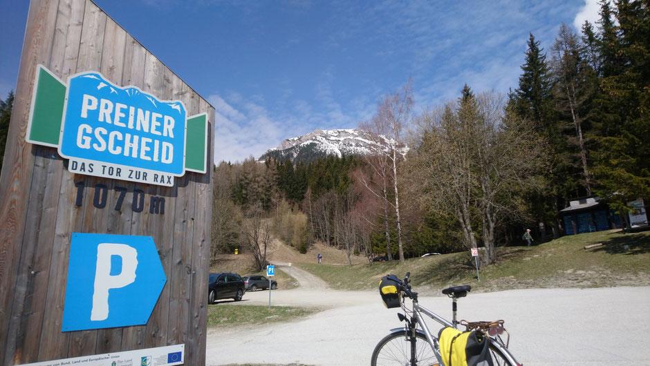 Preiner Gscheid, Gebirgspass, Steiermark, Niederösterreich , Rax, Alpen