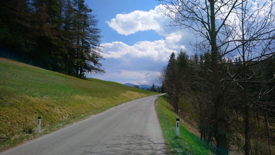 Orthof, Niederösterreich, Adlitzgräben, Semmering, Sonnwendstein, Straße