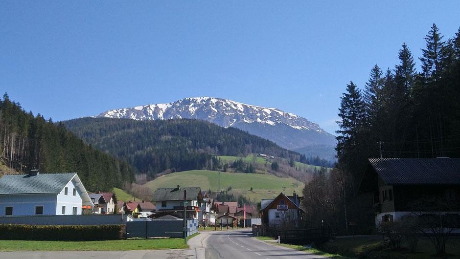 Rax, Naturpark Mürzer Oberland, Kapellen, Steiermark, Alpen, Berge