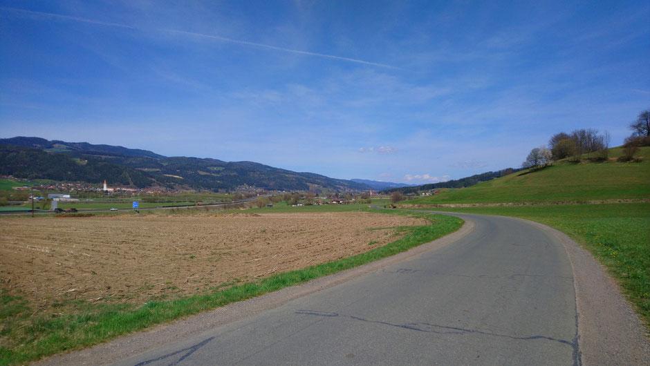 Mürztalradweg, R5, Allerheiligen, Mürzhofen, Frühling