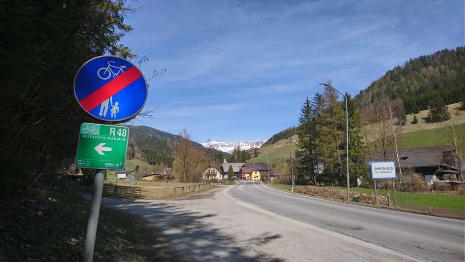 R48, Groß Veitsch, St. Barbara im Mürztal, Hohe Veitsch, Hochsteiermark, Alpen, Österreich, Steiermark