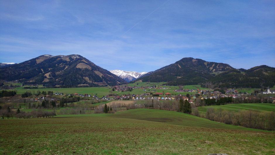 Turnau, Frühjahr, Aflenzer Staritzen, Hochschwab