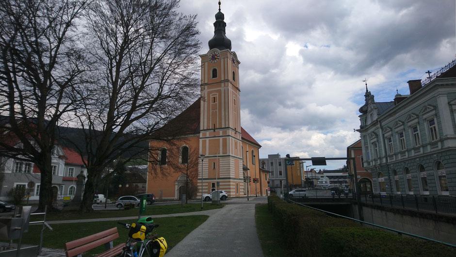 Mürzzuschlag, Mürztal, Steiermark, Mürz, Kirche, R5