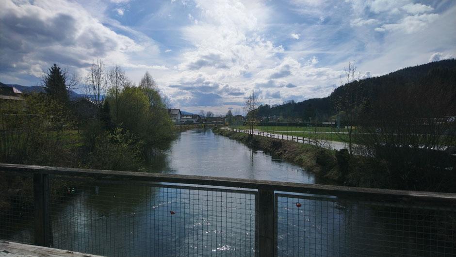 Mürztal, Mürz, Fluß, Langenwang, Steiermark, Wasser