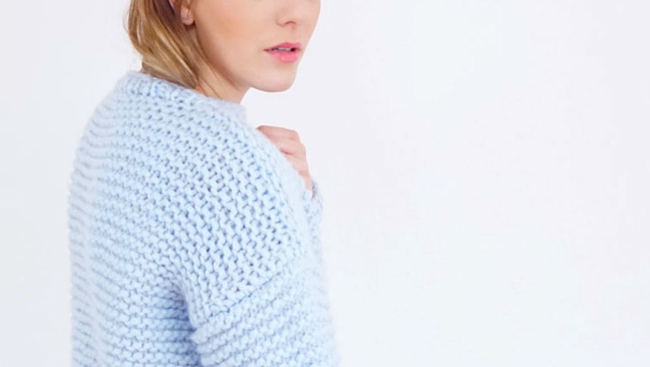 """Strickset """"Softy Sweater"""" von Wooltwist"""