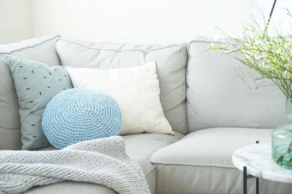 Textilgarn für Kissen als Häkelset von Wooltwist