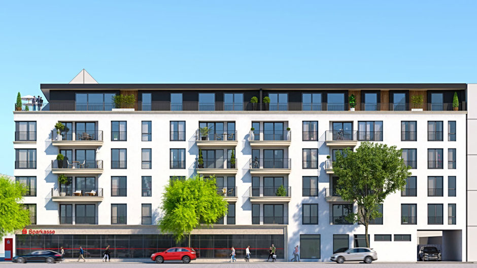 Neubau Ferrumhaus Saarbrücken