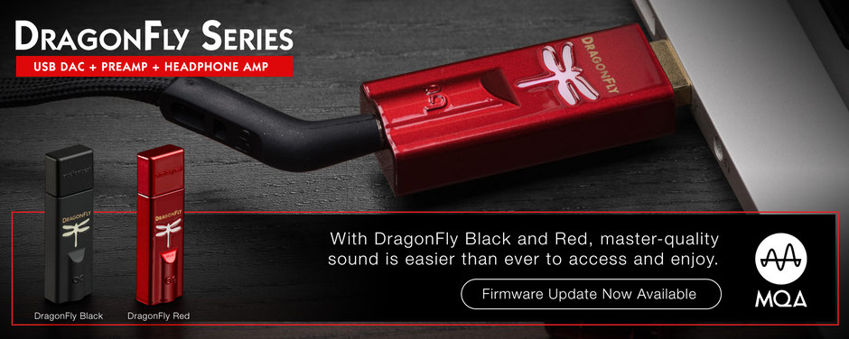 Audioquest Dragonfly black und red
