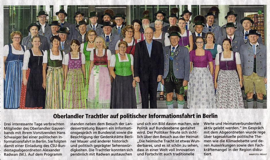 Miesbacher Merkur 26./27. Oktober 2019