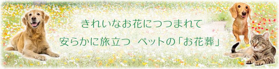 ペット専門の葬儀社「はなの園」火葬・引取り・代行・葬儀・供養、埼玉県越谷市