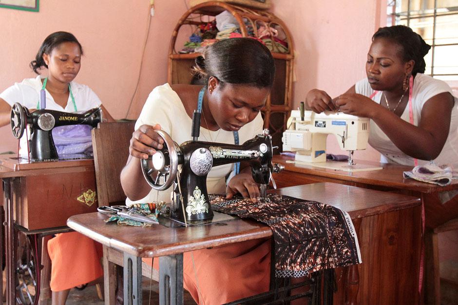 Atelier de couture. Lomé. Togo.
