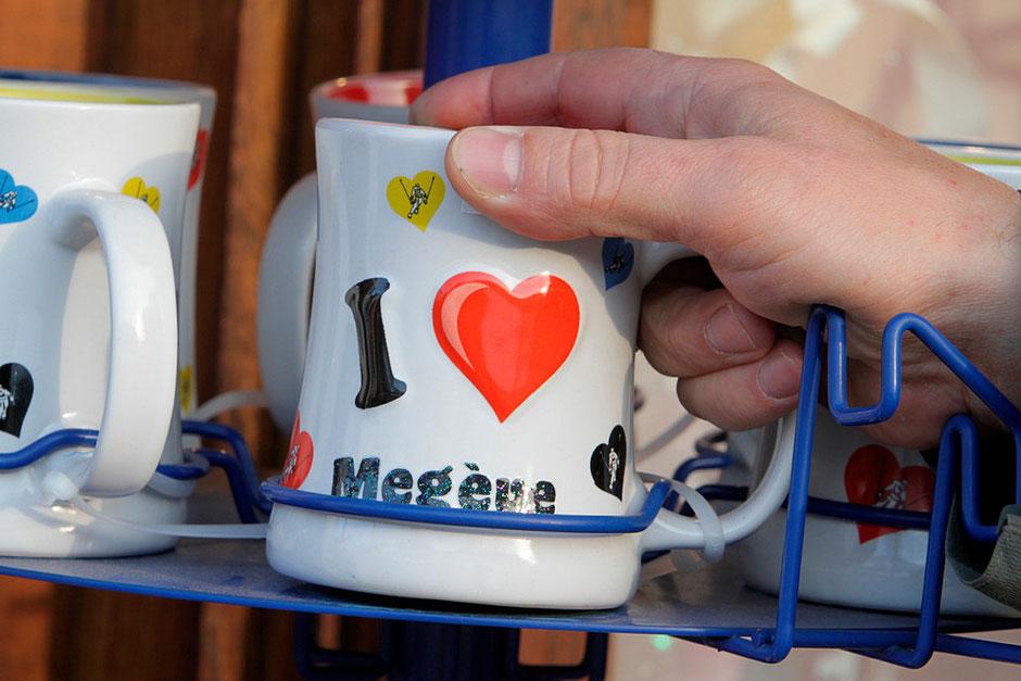 Tasse à l'effigie de Megève. Haute-Savoie.