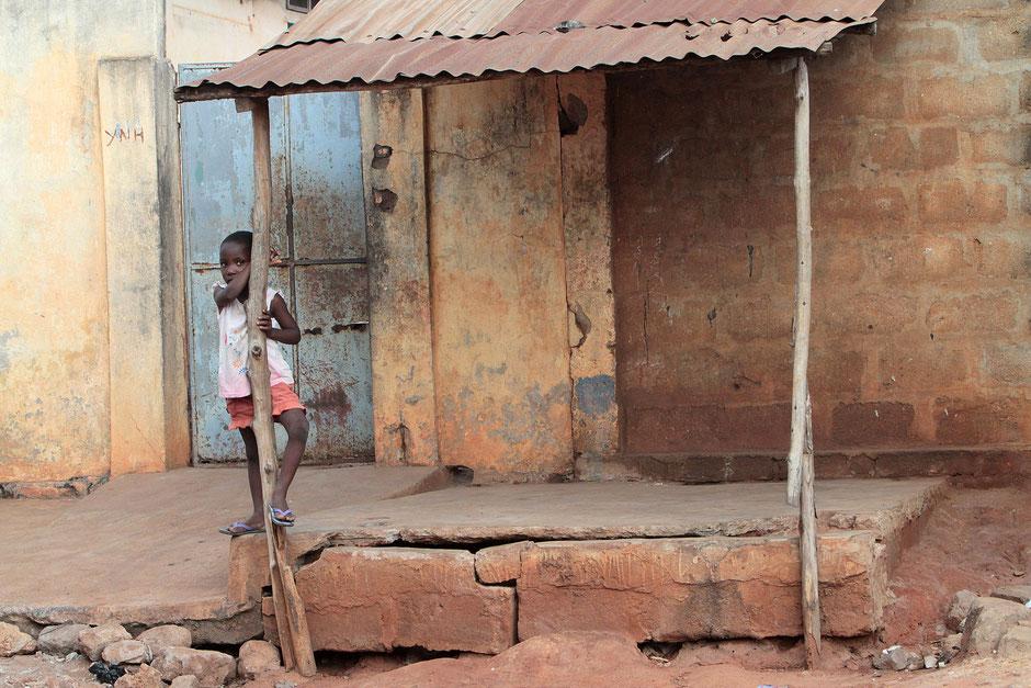 Fillette togolaise. Lomé. Togo.
