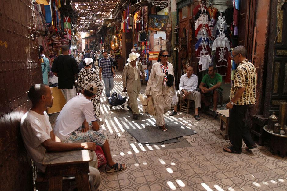 Souk de Marrakech.