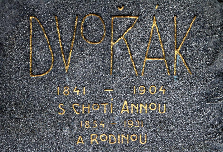 Cimetière de Vysehrad. Prague.