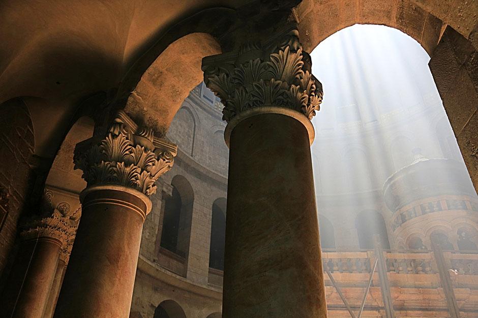 Anastasis. Holy Sepulchre Church. Jerusalem. Israël.