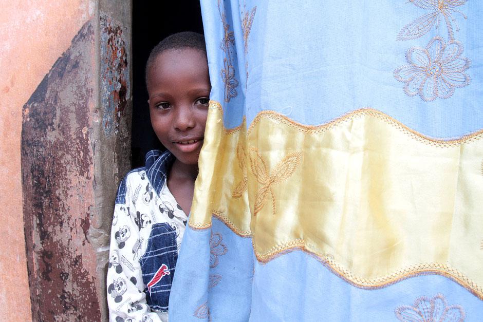 Jeune garçon togolais. Lomé. Togo.