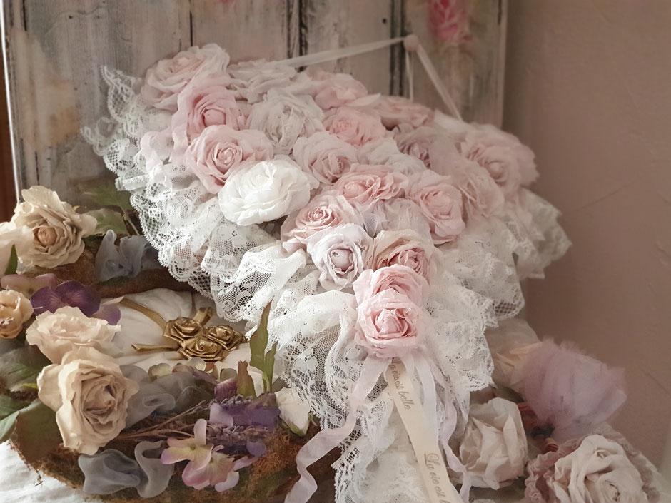 roses tombante pour décoration