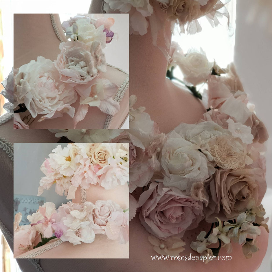 Des guirlandes de roses