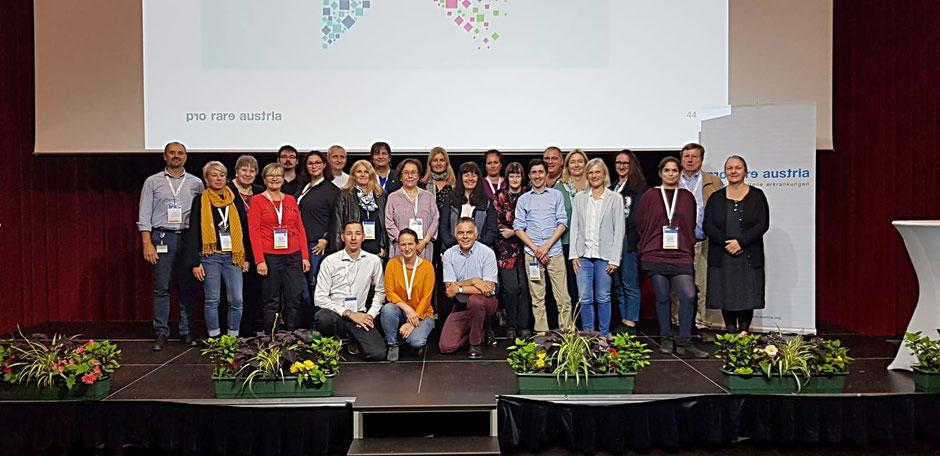 Gruppenfoto von Pro Rare und ihren Mitgliedern