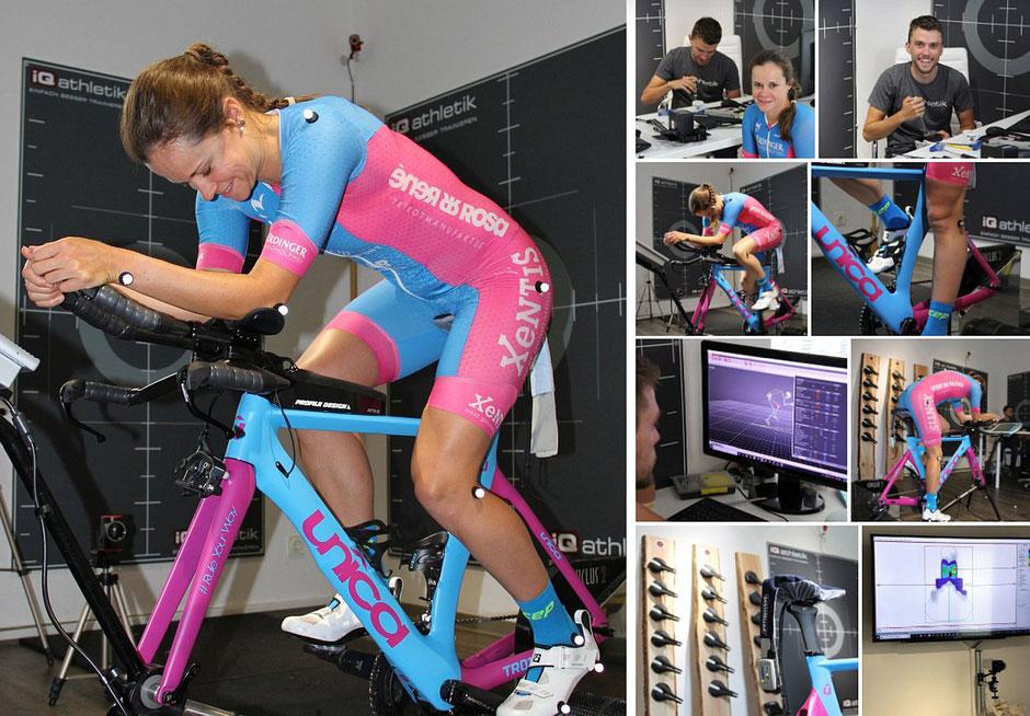 Bikefitting und Satteldruckmessung bei iQ athletik in Frankfurt am Main