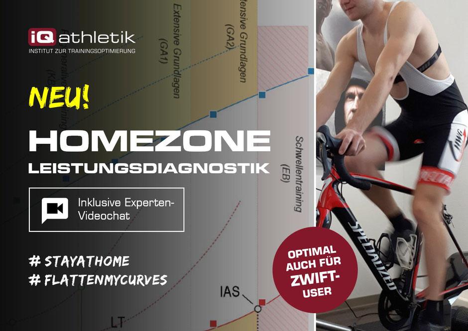 Leistungsdiagnostik für zuhause - für Radfahrer und Triathleten