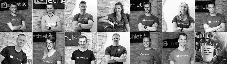 iQ athletik Team: Mitarbeiter und Experten