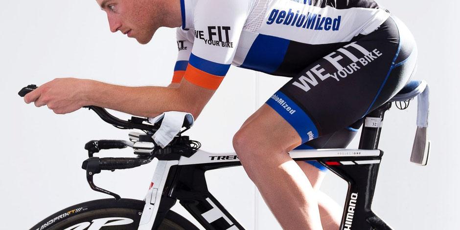 Bikefitting und Aero-Fitting im Radsport und Triathlon im gebioMized concept-lab Frankfurt