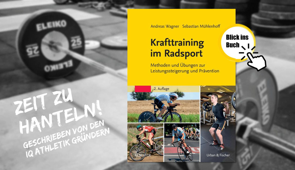 Lesetipp: das Buch Krafttraining im Radsport