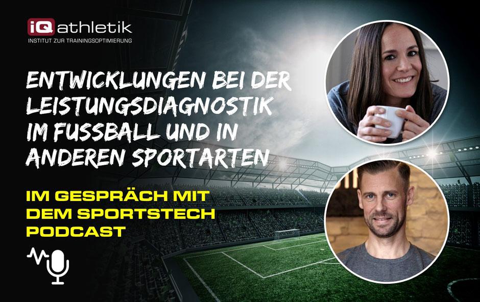 Entwicklungen bei der Leistungsdiagnostik im Fußball und in anderen Sportarten - SportsTech Podcast