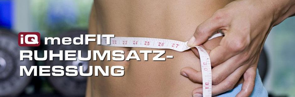Ruheumsatzmessung mit BCM Analyse zur Ernährungsoptimierung