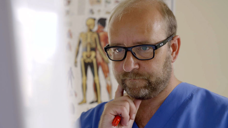 Oberarzt Mario Berwald