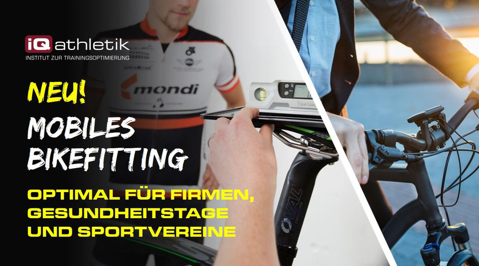 Mobiles Bikefitting für Firmen, Gesundheitstage und Sportvereine