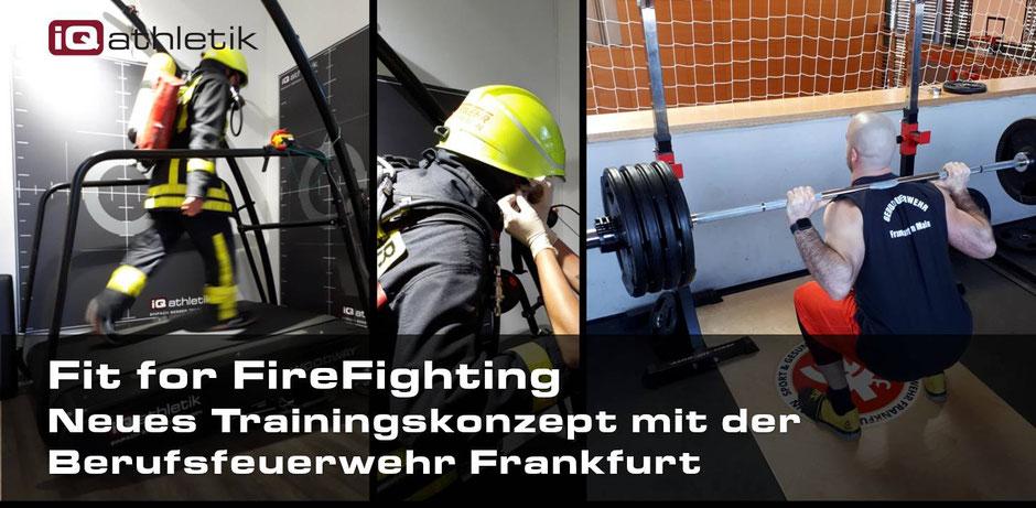 Sport, Training und Gesundheit bei der Feuerwehr