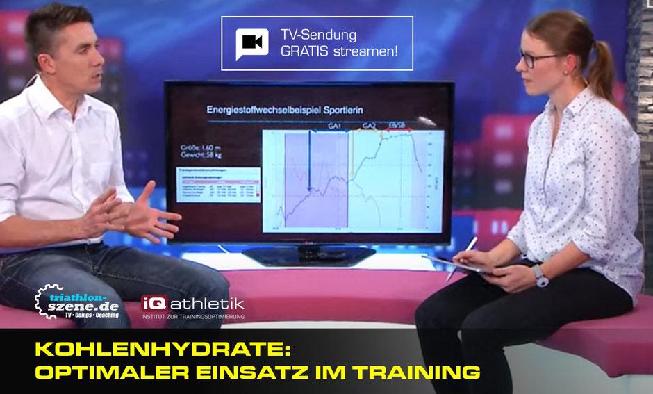 Kohlenhydrate: optimaler Einsatz im Training