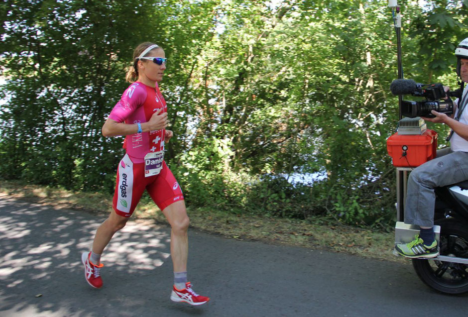 Daniela Ryf beim Ironman in Frankfurt