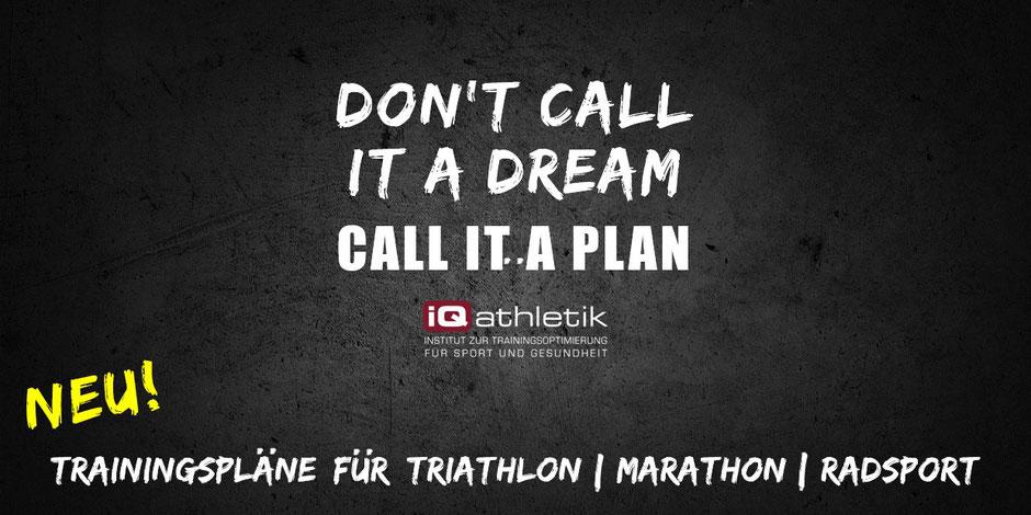 Trainingspläne für Triathlon, Marathon und Radsport