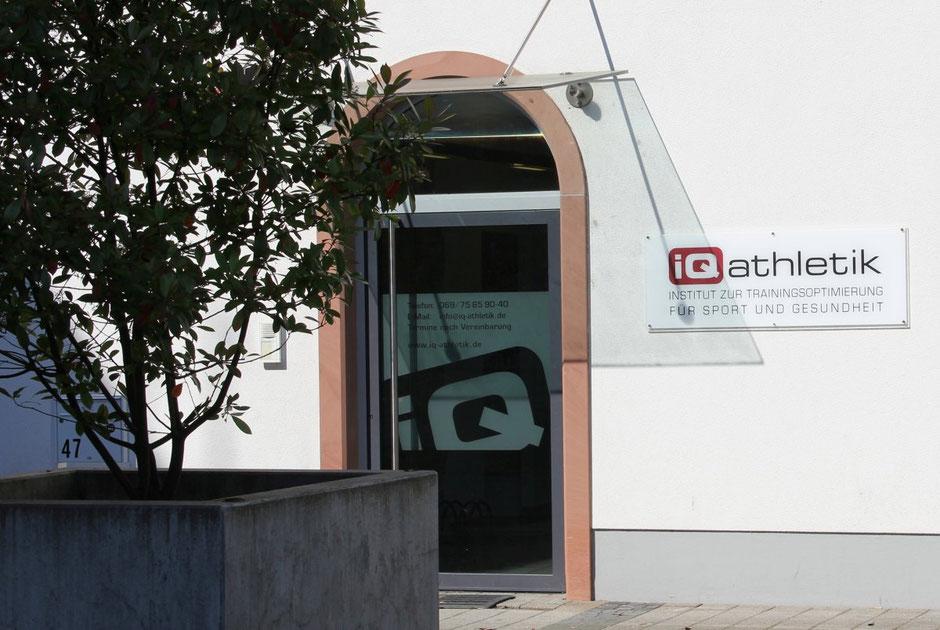iQ athletik Institut zur Trainingsoptimierung in Frankfurt