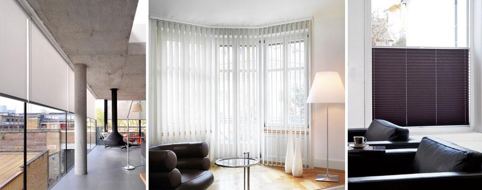 Innovativer Sicht- und Sonnenschutz von Silent Gliss bei Endres Raumkultur