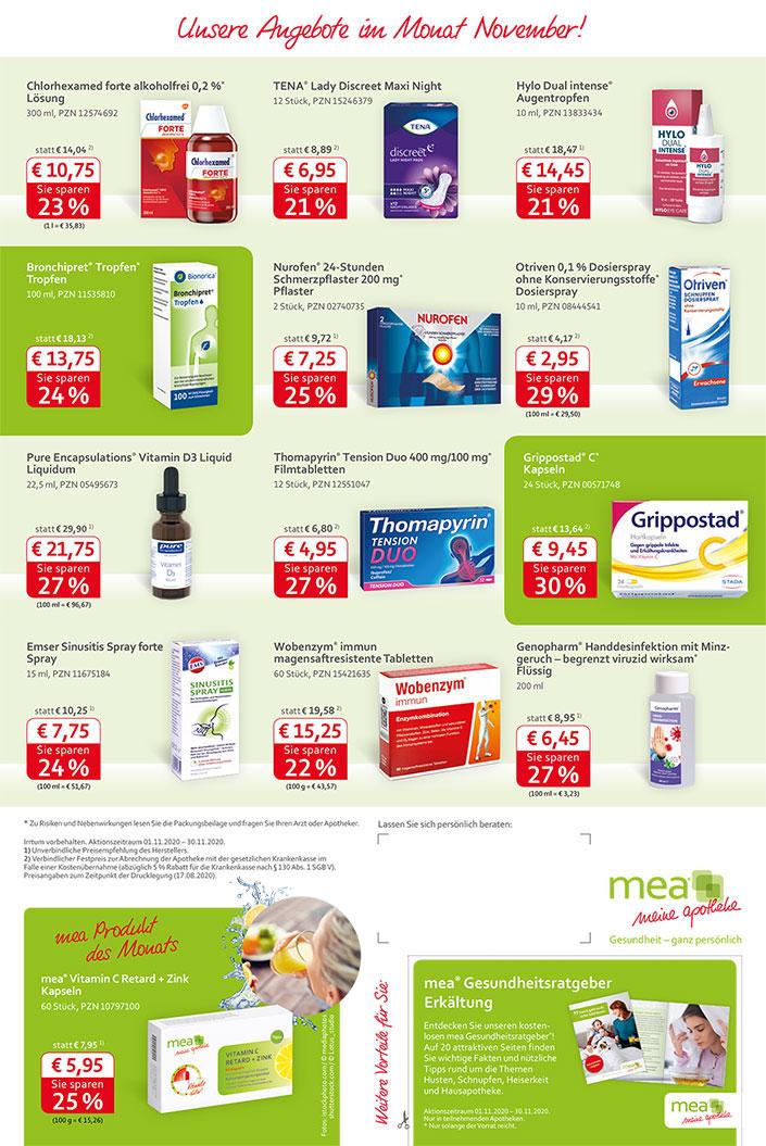 Unsere aktuellen Angebote - anklicken zum Apotheken-online-shop