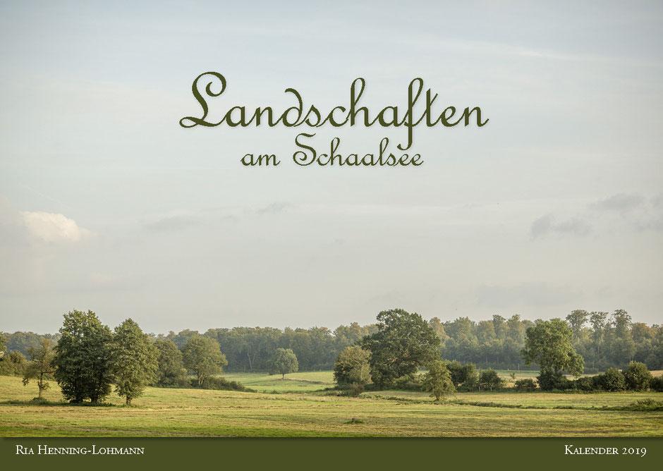 Kalender Schaalsee, Schaalsee-Kalender 2019, Landschaftskalender, Herzogtum Lauenburg