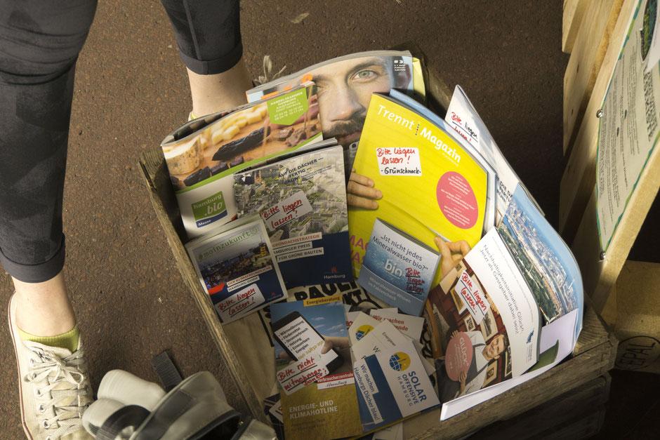 Zero-Waste-Lesekiste (Foto: Spielbudenplatz)