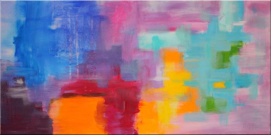 "modernes Wandbild ""Amsterdam"", 120 x 60 cm, XXL"