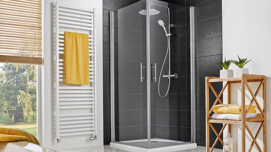 Duschkabine, Eckdusche, Badausstattung